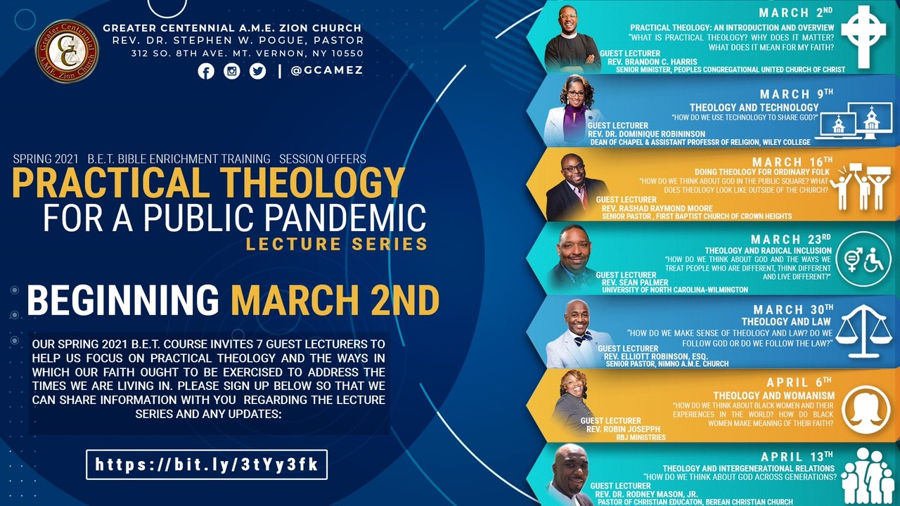 BET Practical Theology For A Public Pandemic